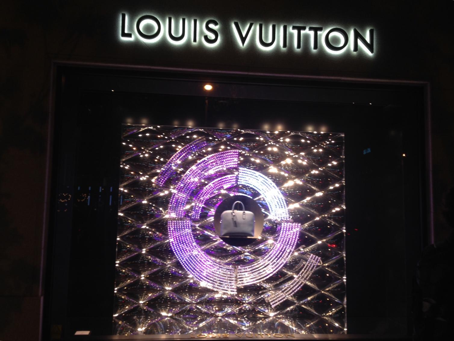 Louis Vuitton escaparates Navidad Madrid (3)